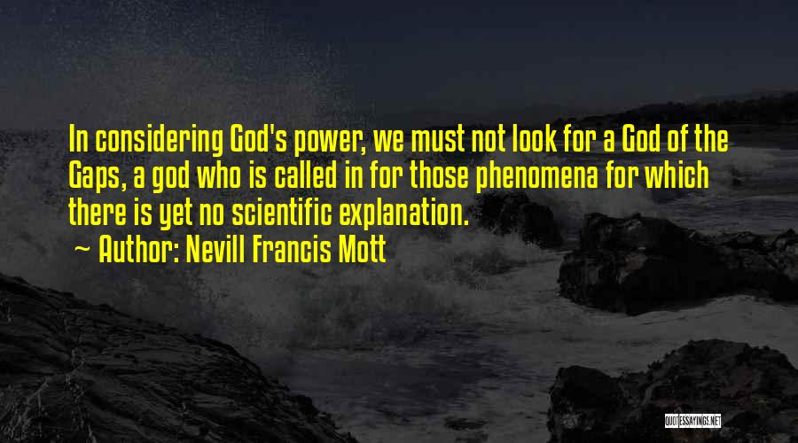 Nevill Francis Mott Quotes 1567191