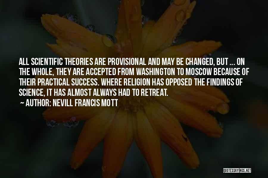 Nevill Francis Mott Quotes 720508