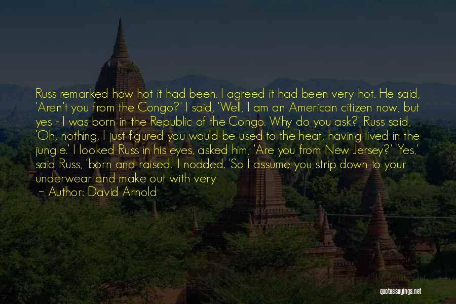 New American Citizen Quotes By David Arnold