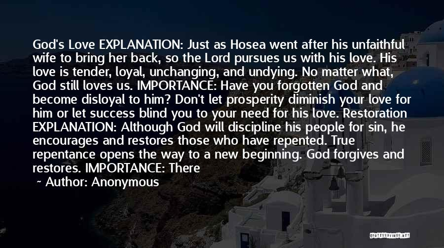 New Beginning And Love Quotes By Anonymous