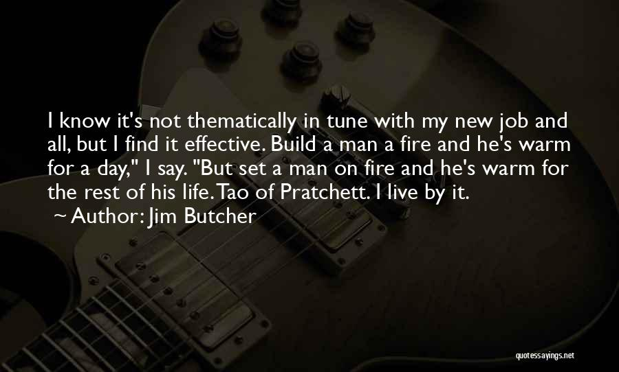 New Day New Job Quotes By Jim Butcher