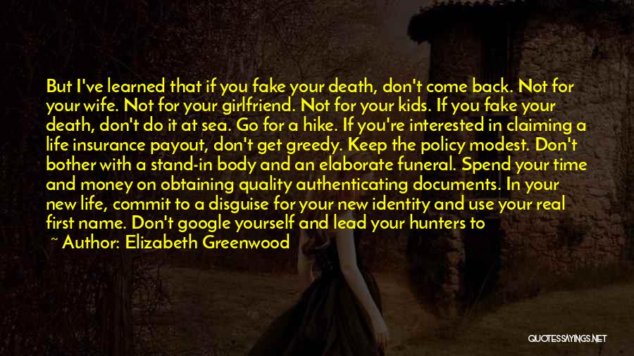 New Girlfriend Love Quotes By Elizabeth Greenwood