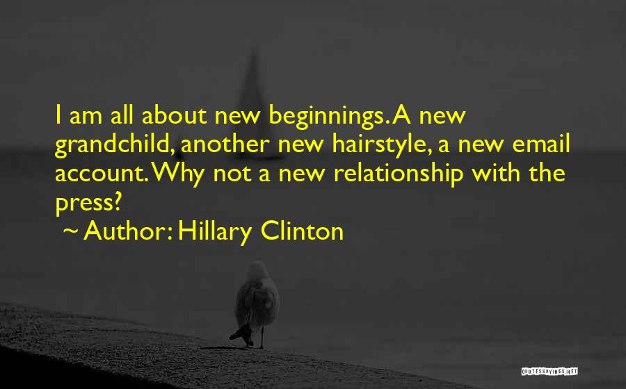New Grandchild Quotes By Hillary Clinton