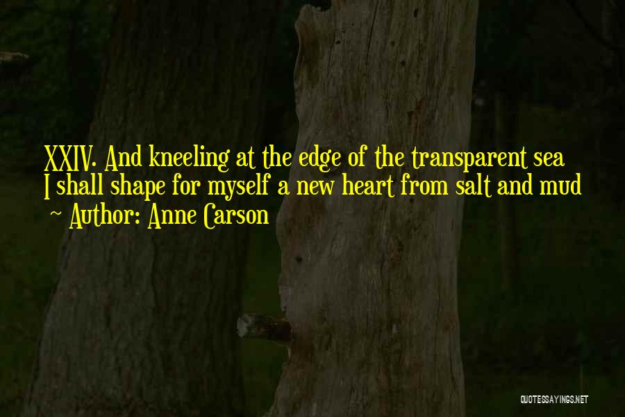 New Heart Quotes By Anne Carson