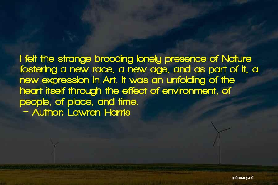 New Heart Quotes By Lawren Harris