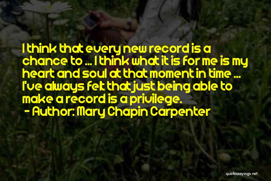 New Heart Quotes By Mary Chapin Carpenter