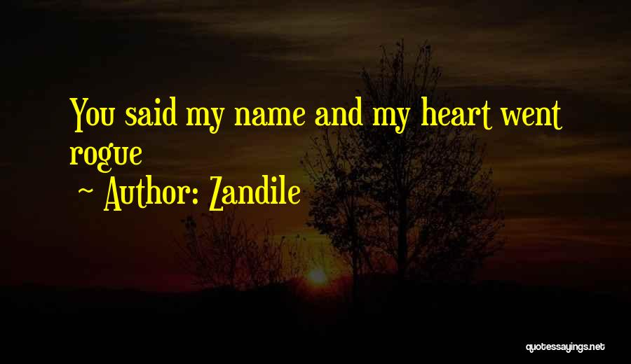 New Heart Quotes By Zandile