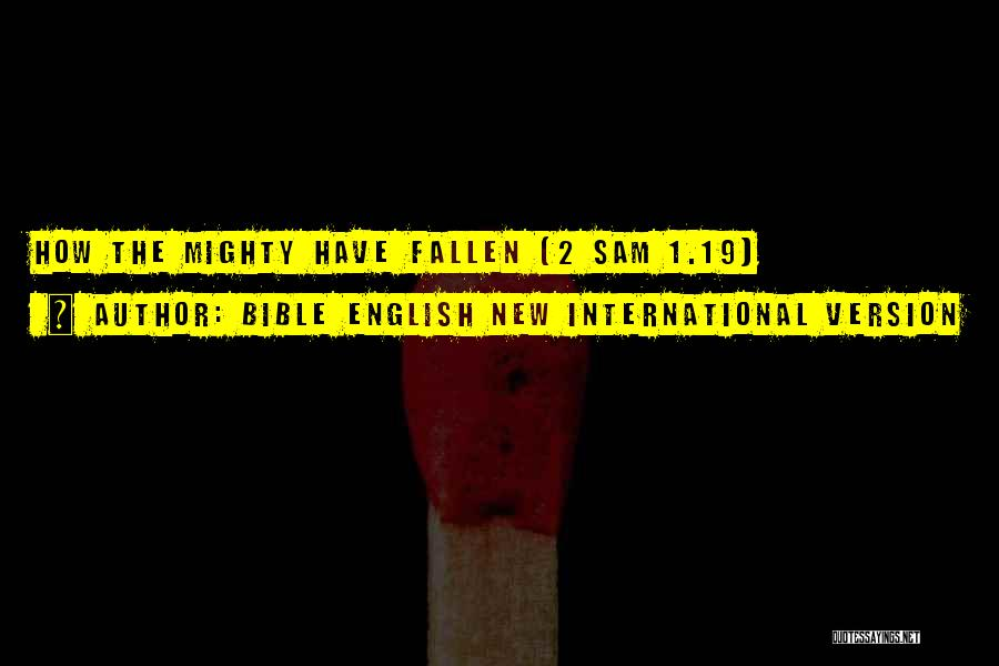 New International Version Bible Quotes By Bible English New International Version