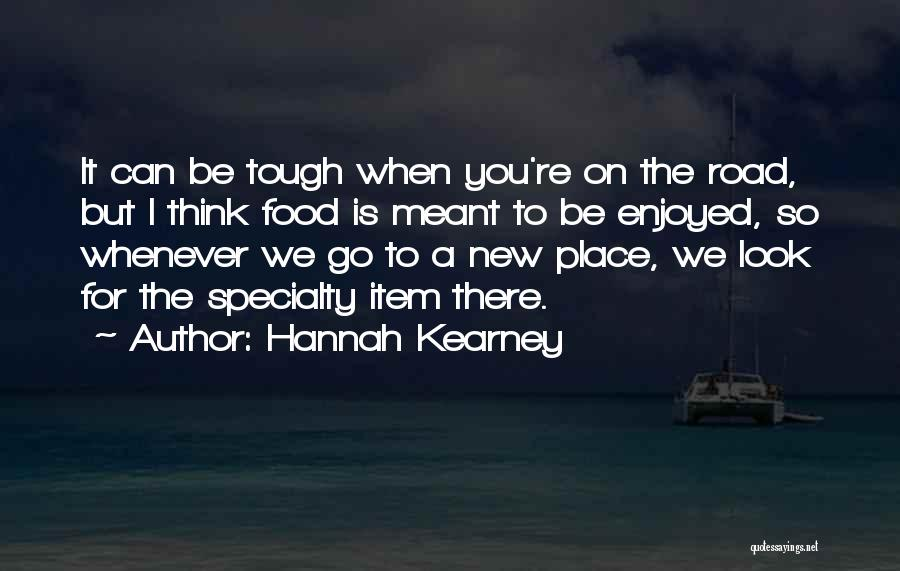 New Item Quotes By Hannah Kearney