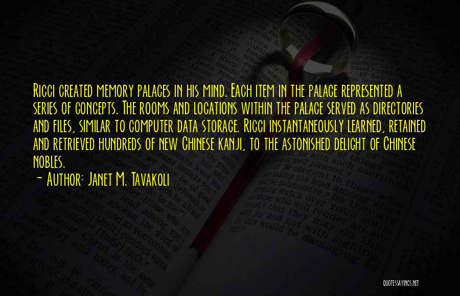 New Item Quotes By Janet M. Tavakoli