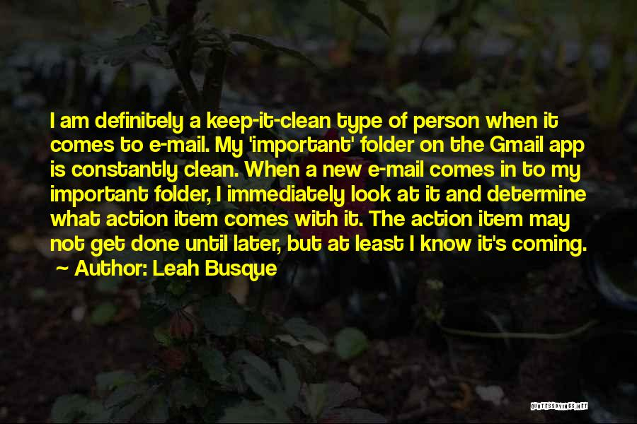 New Item Quotes By Leah Busque