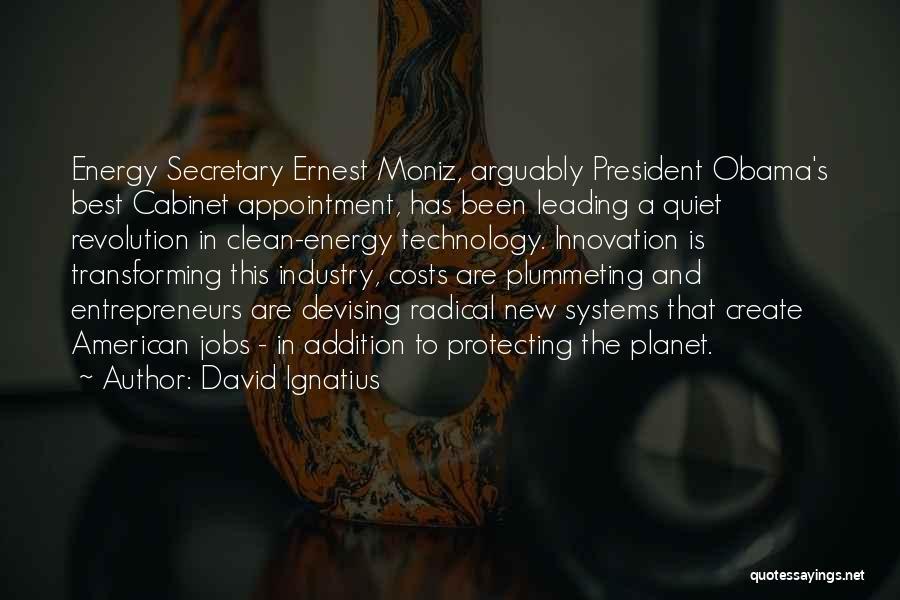 New Jobs Quotes By David Ignatius