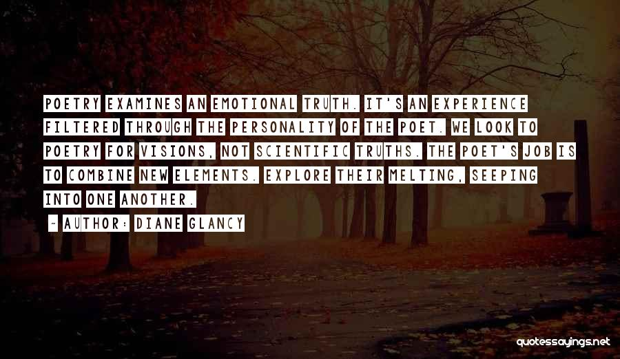 New Jobs Quotes By Diane Glancy