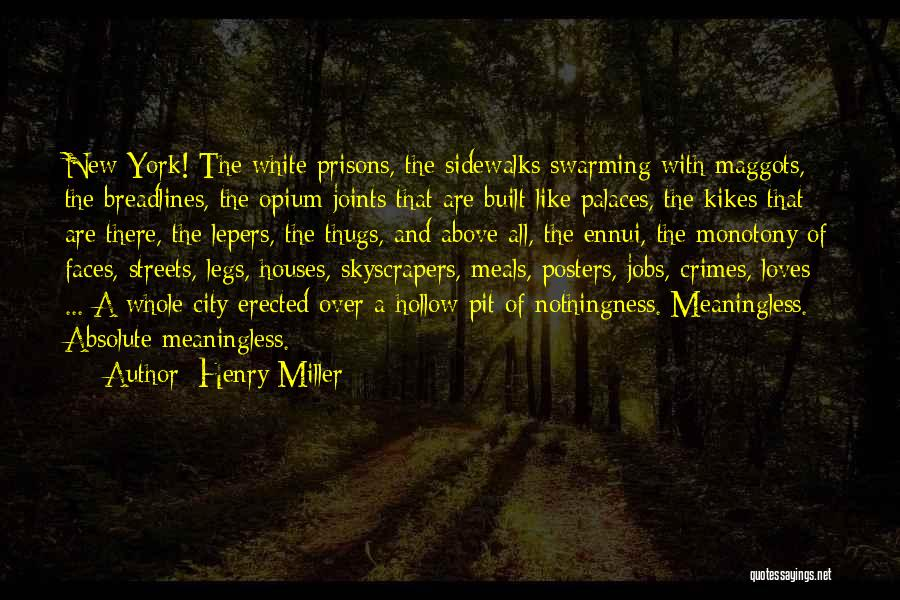New Jobs Quotes By Henry Miller