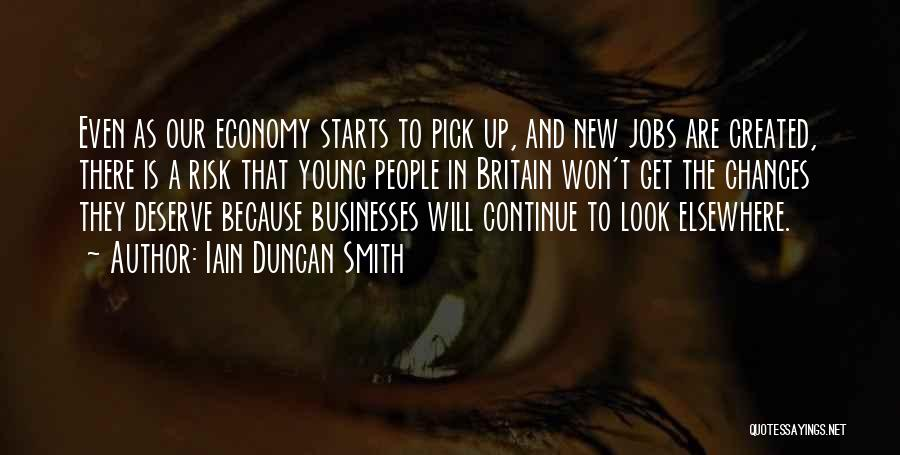 New Jobs Quotes By Iain Duncan Smith