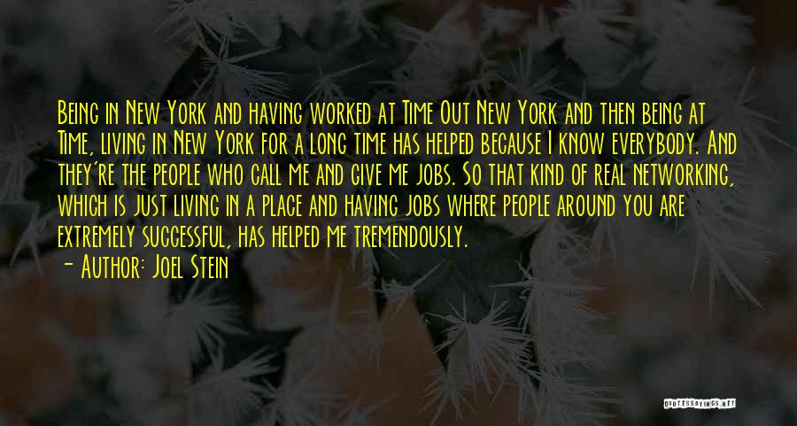 New Jobs Quotes By Joel Stein
