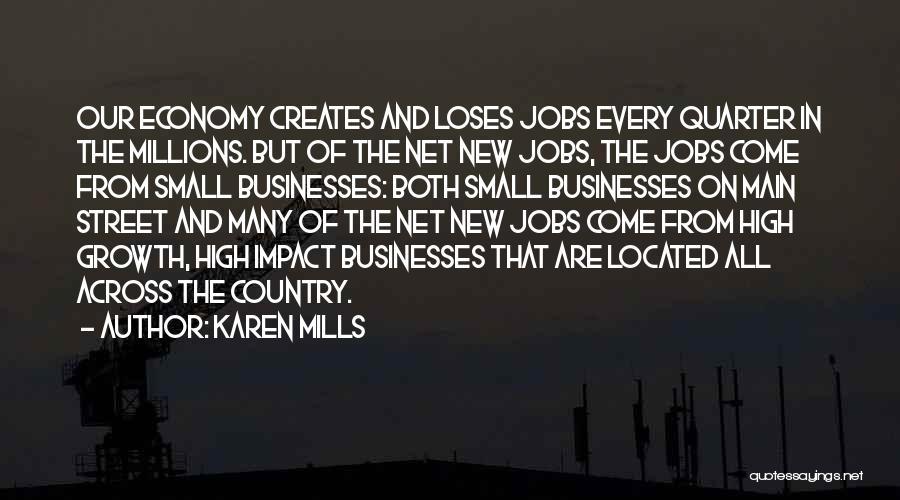 New Jobs Quotes By Karen Mills