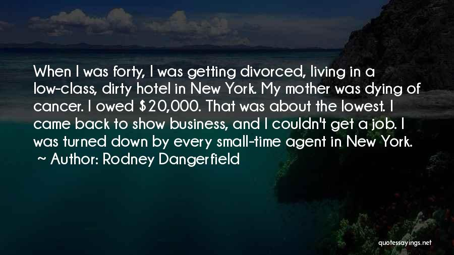 New Jobs Quotes By Rodney Dangerfield