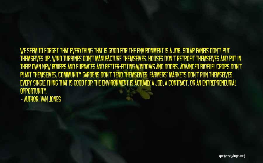 New Jobs Quotes By Van Jones