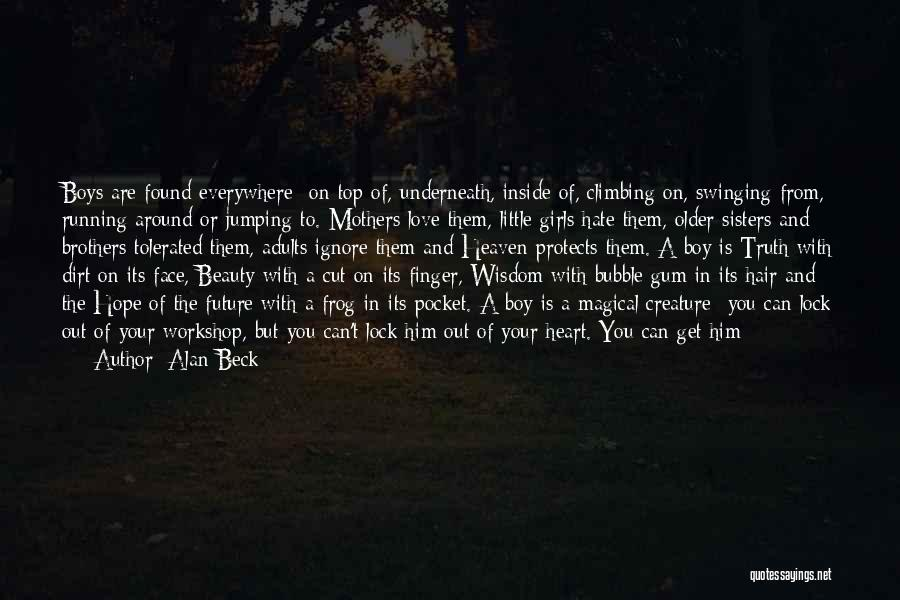 New Love Found Quotes By Alan Beck