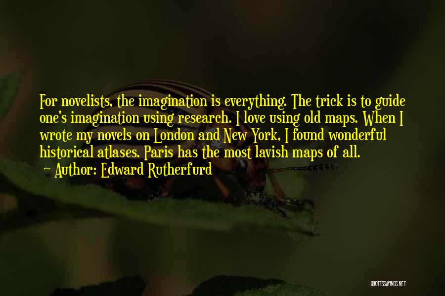 New Love Found Quotes By Edward Rutherfurd