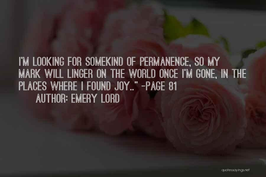 New Love Found Quotes By Emery Lord