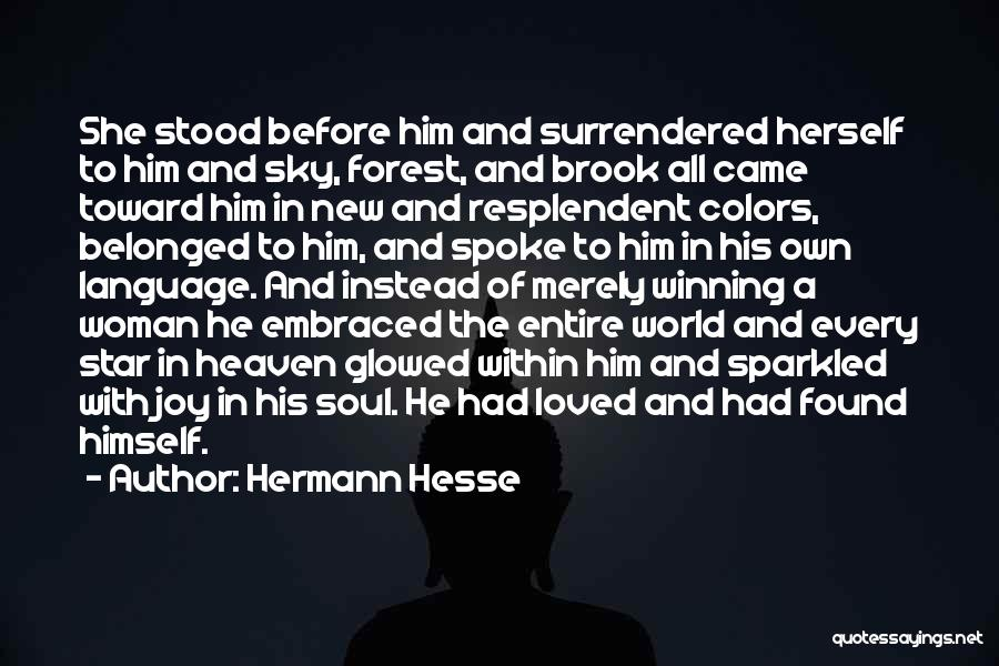 New Love Found Quotes By Hermann Hesse