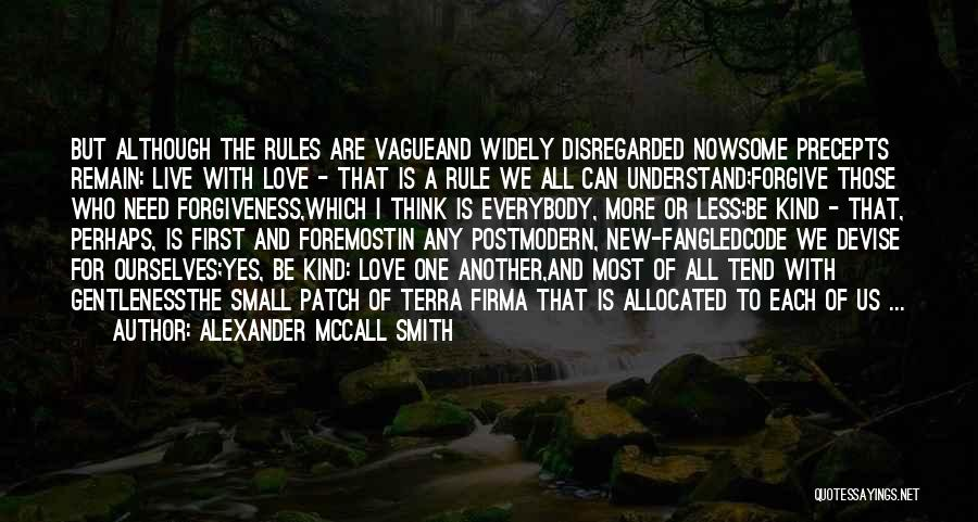 New Love Quotes By Alexander McCall Smith