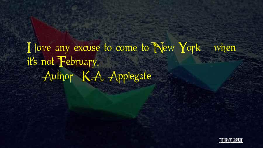 New Love Quotes By K.A. Applegate
