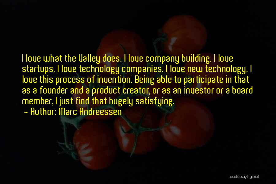 New Love Quotes By Marc Andreessen