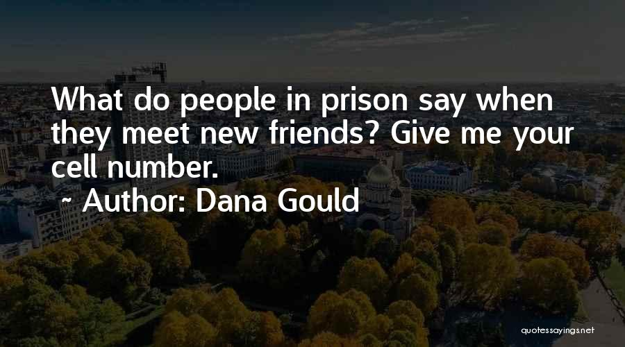 New Meet Friends Quotes By Dana Gould
