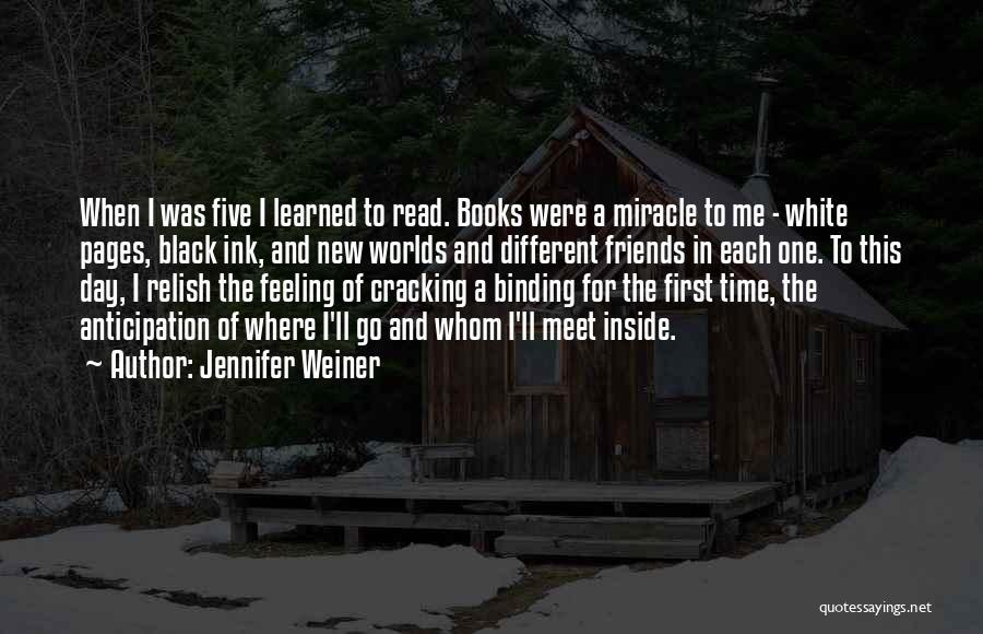 New Meet Friends Quotes By Jennifer Weiner