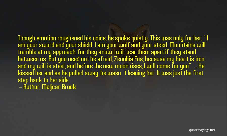 New Moon Romantic Quotes By Meljean Brook