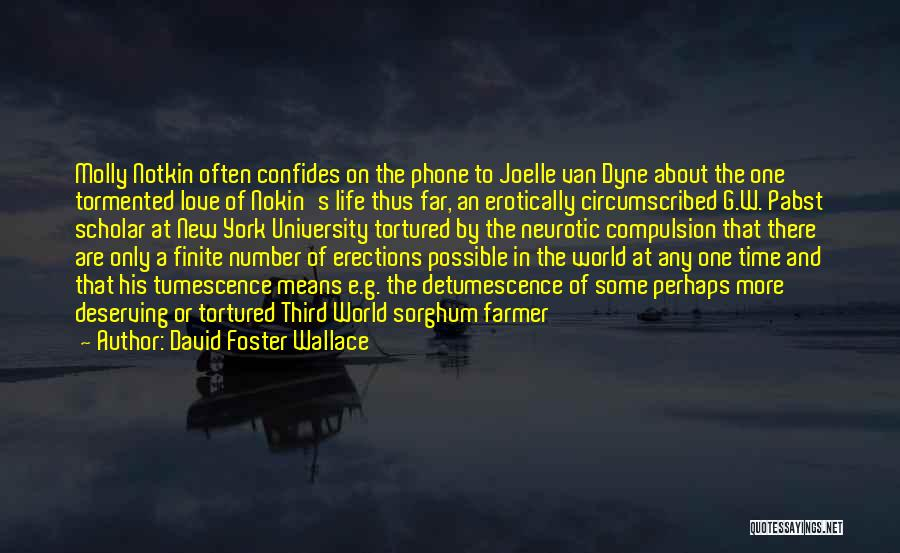 New Number Quotes By David Foster Wallace