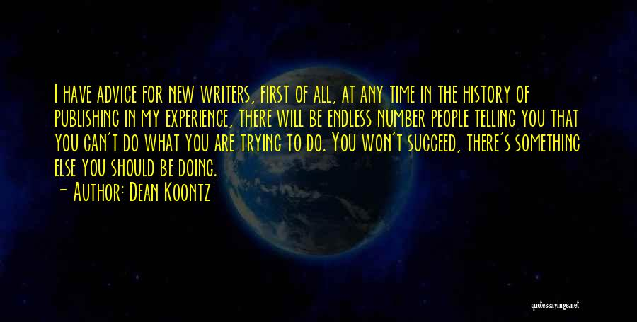 New Number Quotes By Dean Koontz