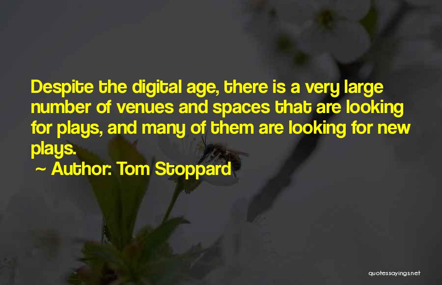New Number Quotes By Tom Stoppard