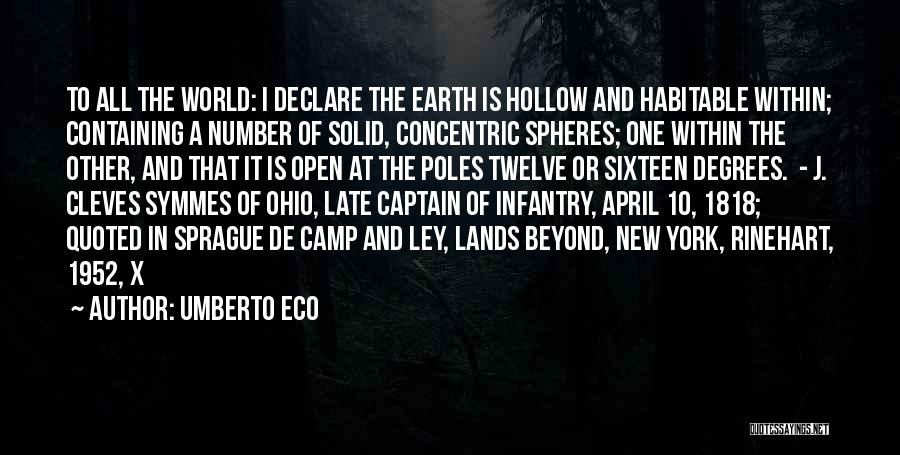 New Number Quotes By Umberto Eco