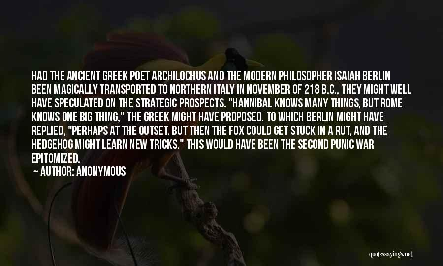 New Prospects Quotes By Anonymous