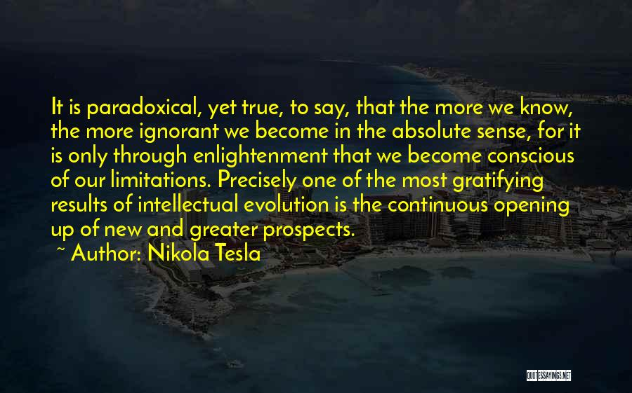 New Prospects Quotes By Nikola Tesla