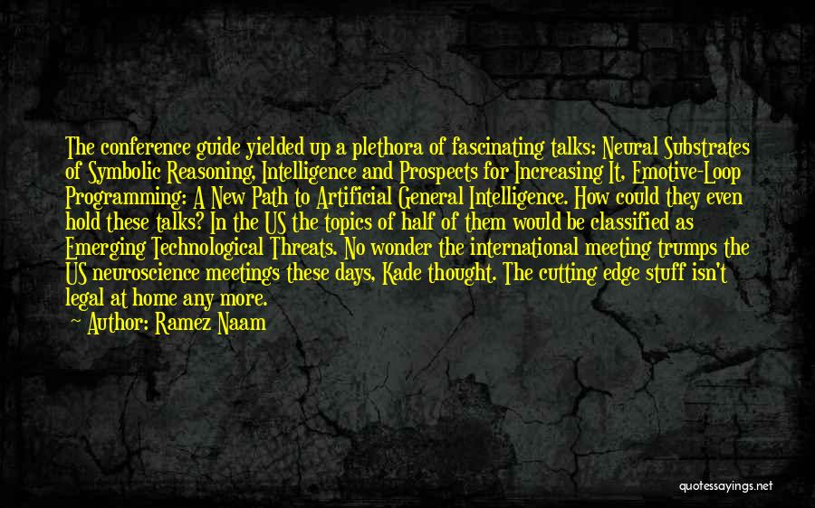 New Prospects Quotes By Ramez Naam