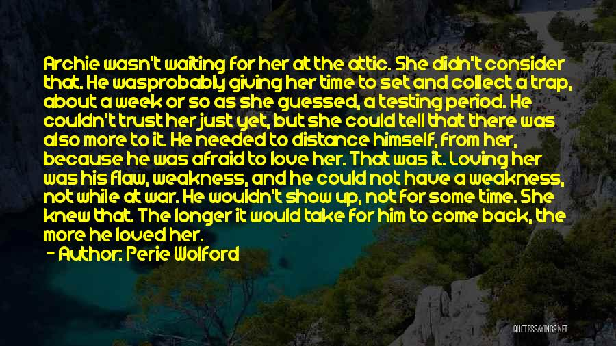 New Release Love Quotes By Perie Wolford