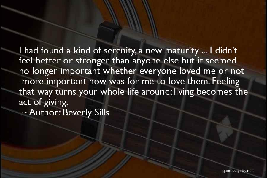 New Way Of Living Quotes By Beverly Sills