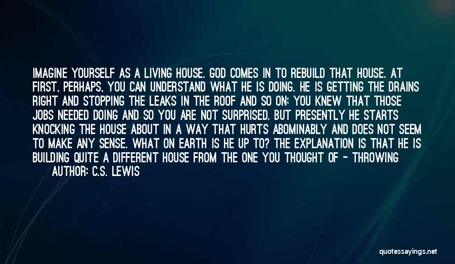 New Way Of Living Quotes By C.S. Lewis