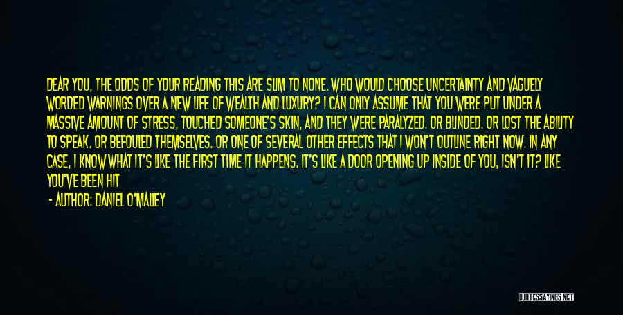 New Way Of Living Quotes By Daniel O'Malley