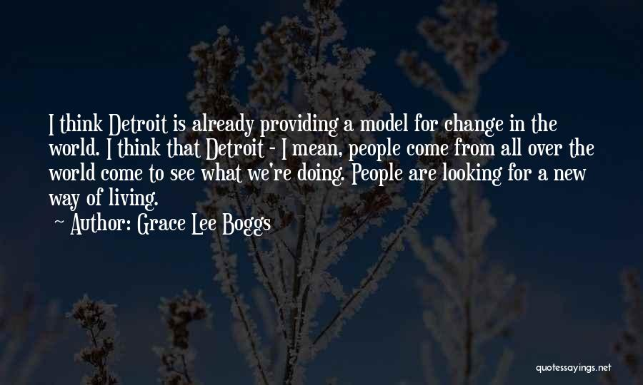New Way Of Living Quotes By Grace Lee Boggs