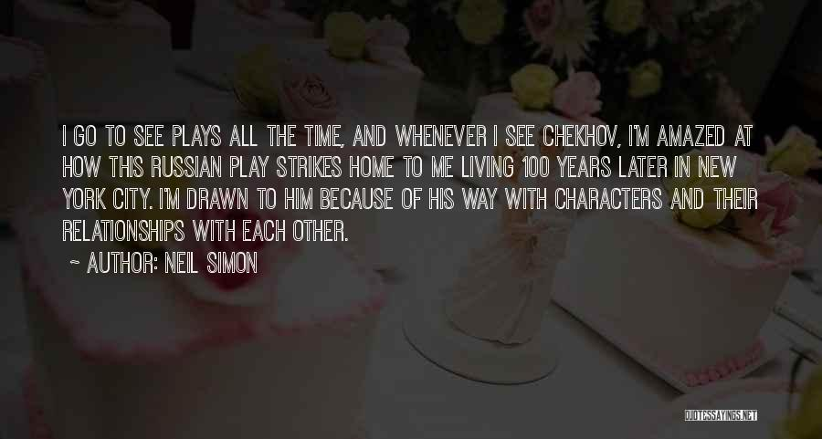 New Way Of Living Quotes By Neil Simon