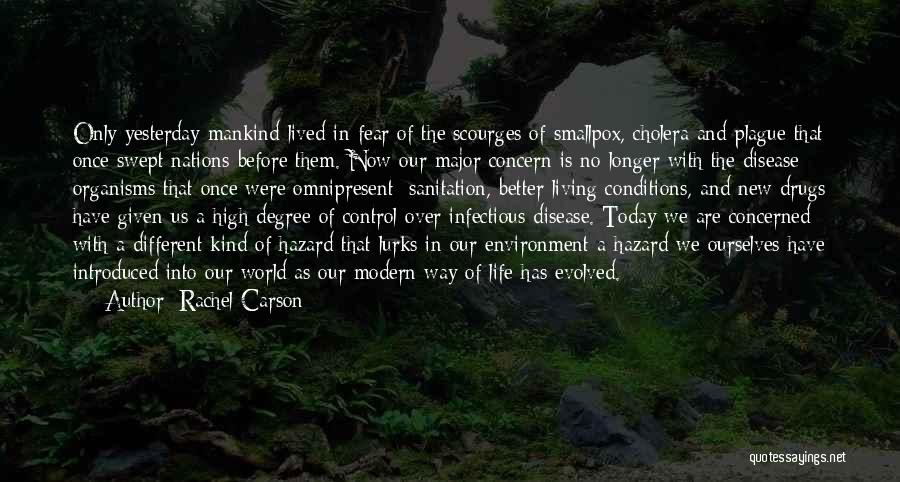New Way Of Living Quotes By Rachel Carson