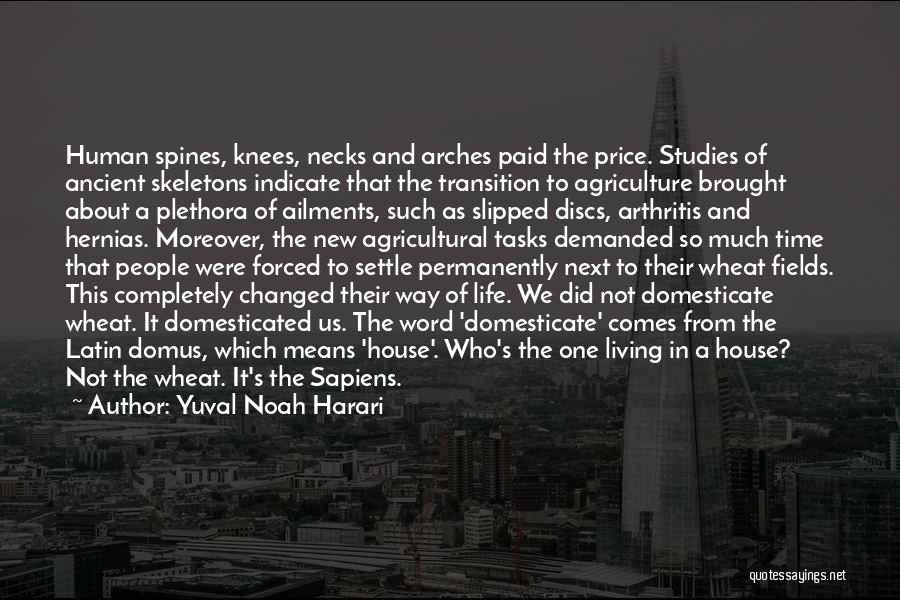 New Way Of Living Quotes By Yuval Noah Harari
