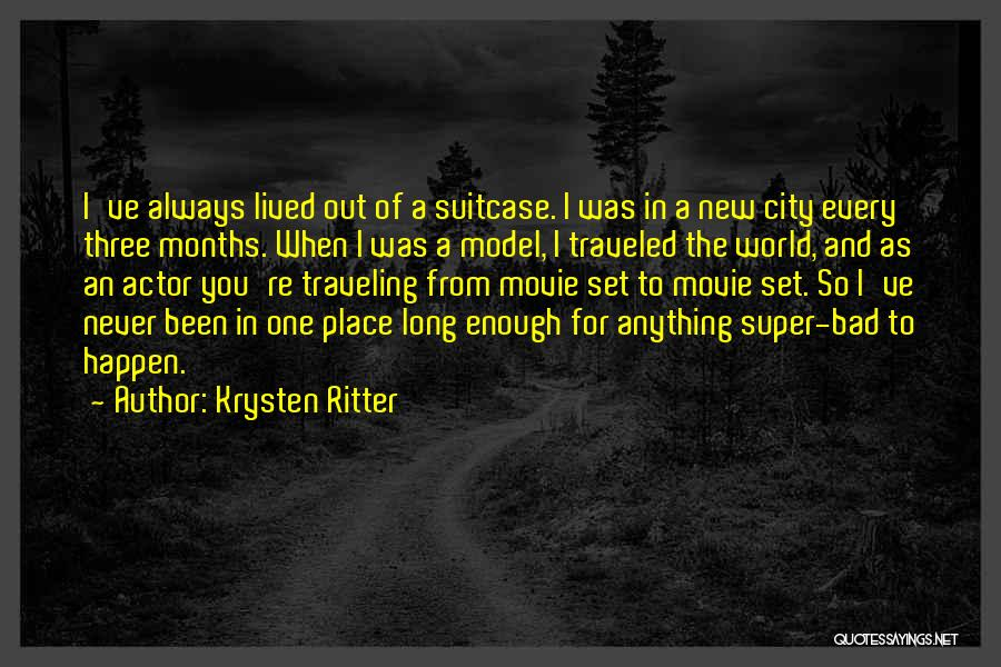 New World Movie Quotes By Krysten Ritter