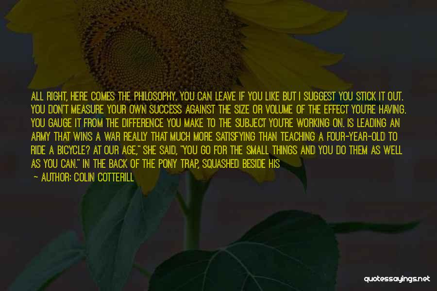 New Year Garden Quotes By Colin Cotterill